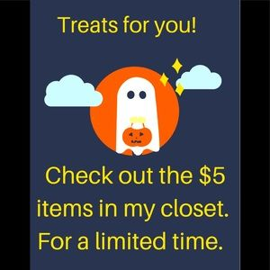 $5 items!  Treats for you!